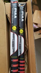 Windshield Wiper Blades PIAA 95065 + 95060