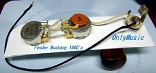 COMPATIBLE WITH FENDER MUSTANG 60's REPRO VINTAGE WIRING HARNESS