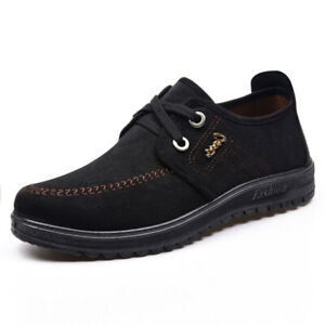 Men Athletic Lace Up Casual Fashion Durable Work Shoes Sneakers Anti Slip Sports