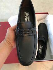 SALVATORE FERRAGAMO New $595 Loafers Shoes 7 1/2 D