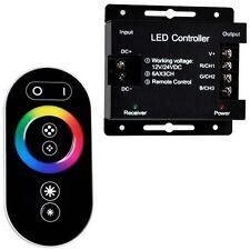 LED CONTROLLER TOUCH TELECOMANDO CON CENTRALINA PER STRISCIA RGB 12/24 VOLT -MNT