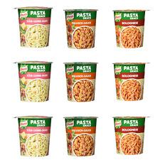 Fertig Gerichte Knorr 9 x Snackpot 3x Spaghetti Bolognese 3x Gulasch 3 x Cheese