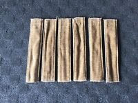 Set of 6 Fleetwood Decorative Curtain Tie Back Straps - Gold