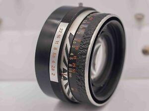 Needs CLA - Carl Zeiss Jena Pancolar 50mm F2.0 Pentax M42 Screw Mount Prime Lens