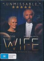 The Wife DVD NEW Region 4 Glenn Close Jonathan Pryce