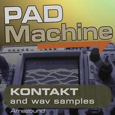 192 PADS for KONTAKT .nki INSTRUMENTS 1.72GB 24bit WAV SAMPLES PC MAC MPC