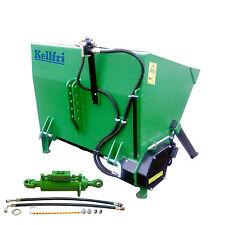 Salière 1.1 m tracteur auto chargement inc cylindre & tuyau kellfri £ 1290.00 + tva