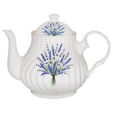 Crown Trent Fine English Bone China 4 Cup Teapot Tea Pot LAVENDER