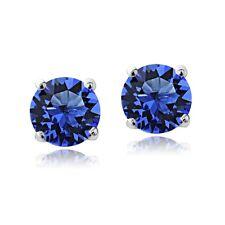 Swarovski Elements Sapphire September Birthstone Stud Earrin