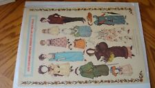 Kate Greenaway Antique Embossed Cut-Out Paper Dolls Merrimack Press