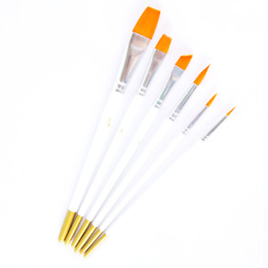 6Pcs Artist Painting Brush Set for Acrylic Oil paint multi purpose