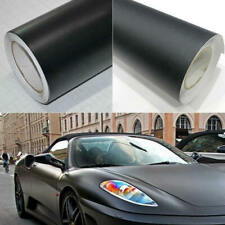 Matte Black Vinyl Film Wrap Car DIY Sticker Vehicle Decal 3D Bubble Free 1Pc