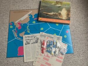 Victory In the Pacific (1977) from Avalon Hill