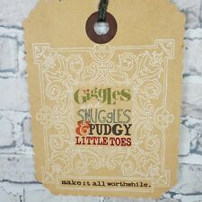 Danielson Designs Hanging Sign Kids Room Nursery Giggles and Snuggles 14.75 x 11