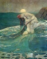 EDMUND DULAC THE ABYSS OF TIME 8X10 FINE ART PRINT 28012007177