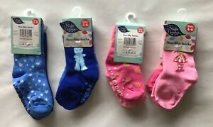 Night Garden 2 pack Socks in Blue with Iggle Piggle or Pink with Upsy Daisy