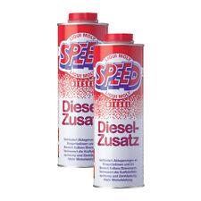 2x LIQUI MOLY 5160 Speed Diesel Zusatz Zugabe Kraftstoff Additiv 1L