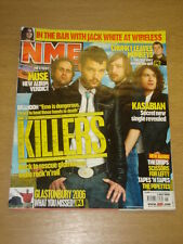 NME 2006 JUL 1 KILLERS MUSE ARCTIC MONKEYS KASABIAN