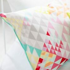 ADAIRS KIDS Hello Sunshine geometric COT (Jnr Bed) QUILT COVER SET pink