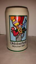 Vintage Oktoberfest Munchen 1981 Germany Signed Entwurf von Ernst Strom Rastal
