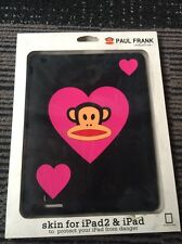 SALE- SILICONE CASE/COVER FOR APPLE IPAD I IPAD 2 IPAD1/2 FOR PAUL FRANK