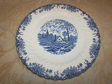 Large Vintage Collectable Fine Staffordshire Ware - Myott The Brook Plate
