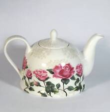 Kaffeekanne Teekanne Kanne Jameson&Tailor Diamant Porzellan englische Rosen