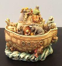 "NEW 1999 Harmony Kingdom ""Y2HK Millenium Box Figurine"" #TJSEY2K NOS NIB Retired"