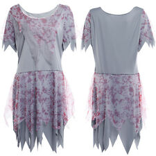 Halloween Bloody Stained Ladies Zombie Dress Costume Fancy Dress Cosplay Dress