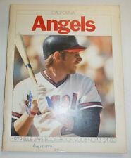 California Angels MAgazine 1979 Blue Jays Scorebook Vol.3 No.13 1979 123114R2
