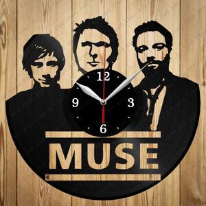 Vinyl Clock Muse Vinyl Record Clock Handmade Original Gift 6544