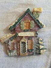 Holiday House Clay Brooch Pin