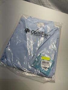 NEW! Mens Coolibar Long Sleeve Shirt Sun Protection UPF 50+ L Large Vented