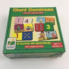 Giant Dominoes Three Games In One By Learning Journey Children Kids Teaching