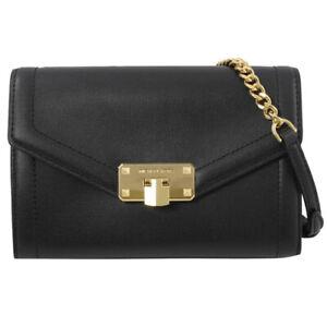 Michael Kors Leather Kinsley Medium Crossbody/Clutch Bag.