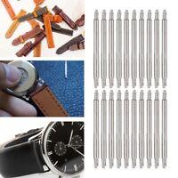 20Pcs Watchmaker Watch Band Spring Bars Strap Link Pins Steel Repair Kit Set