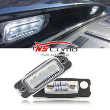 2X License Plate Lamp 12V Super White Lamp Suitable Mercedes Benz W164 X164 W251