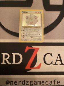 Pokemon Chansey Holo Base Set 3/102 LP-MP WOTC
