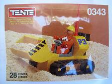 Tente Exin Space Excavator 0343 NOS 28 Pieces