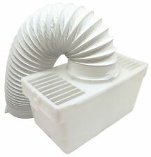 Universal White Knight Beko Tumble Dryer Indoor Condenser Vent Kit Box With Hose