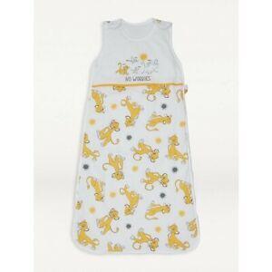 Disney Baby Lion King 100% Cotton Sleep Bag 2.5tog 6-18 months yellow