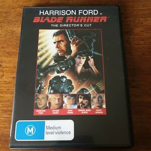 Blade Runner Directors Cut Harrison Ford DVD R4 Like New! FREE POST