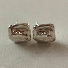 Silpada Sterling Silver Square Ripple Earring P1656