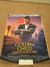 The Golden Child French Movie Poster Eddie Murphy 3.5' By 5' Original From 1986