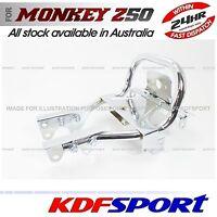 KDF BIKE REAR CARRIER RACK BACK PARTS 50CC CHROMED FOR HONDA MONKEY Z50 Z50J
