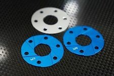 Yeah Alloy 540 Motor Spacer Heatsink 1mm x 3pcs Blue- suit Tamiya HPI YA-0463B