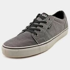 $186 Vans Men Gray Bishop Low Top Canvas Skateboarding Sneakers Shoes 7