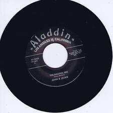 JOHN & JACKIE - LITTLE GIRL / THE RAGING SEA (Monster Sreamin' Black Rockers)