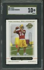 """2005 Topps #431 Aaron Rodgers Packers RC Rookie SGC 10 PRISTINE """" GOLD LABEL """""""