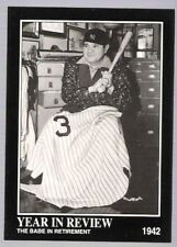 1992 BABE RUTH BASEBALL CARD Number 29!!